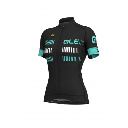ALÉ PRR 2.0 Strada Women's Jersey - Black/ Turquoise