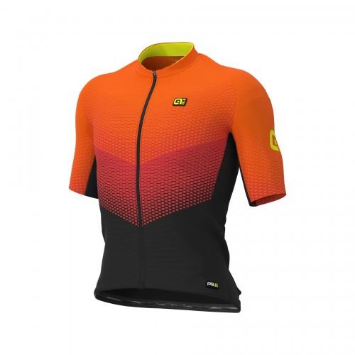 ALÉ PRR Delta Jersey - Black/ Grey/ Fluo Orange