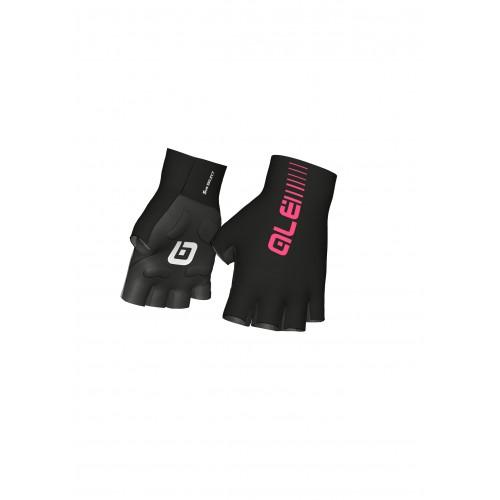 ALÉ Sunselect Crono Glove - Black/ Fluo Pink