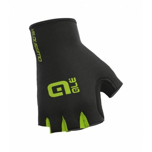 ALÉ Velocissimo Crono Glove - Black/ Fluo Yellow