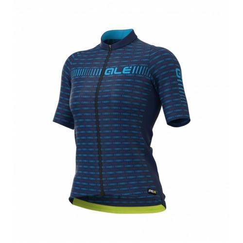 ALÉ PRR Green Road Women's Jersey - Blue/Light Blue