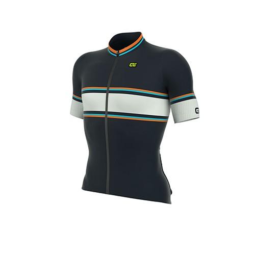 ALÉ LINEA PRR 2.0 Speedfondo Jersey -  Navy/ Fluo Orange/ Light Blue