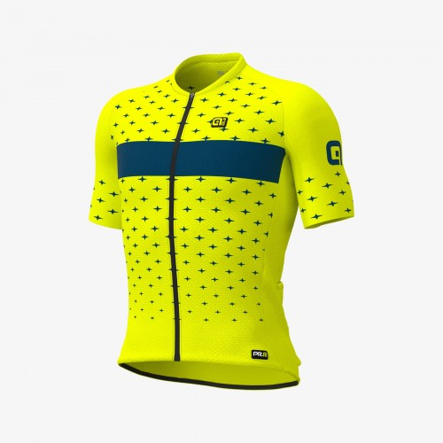 ALÉ Stars Road Jersey - Fluo Yellow