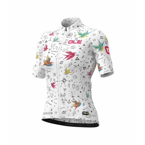 ALÉ Graphics PRR Versilia Women's Jersey - White