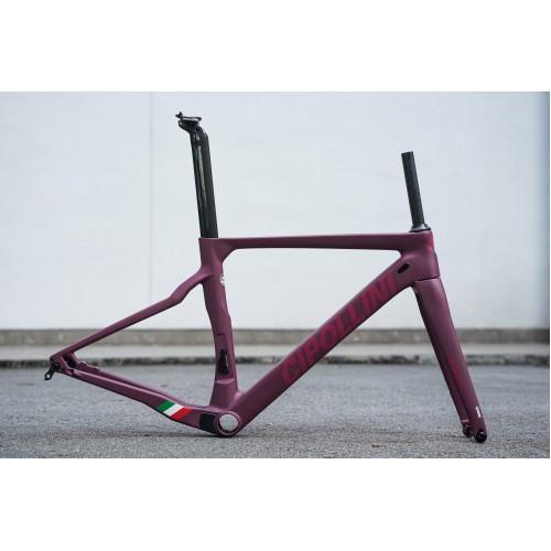 Cipollini BOND2 Carbon Disc Frameset - Matte Purple/ Shiny Bordeaux