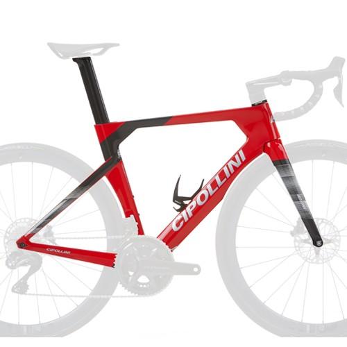 Cipollini RB1K Ad.One Frameset - Red/ Carbon