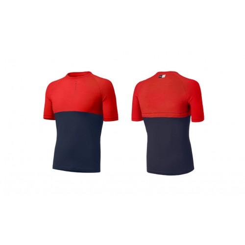 PEdALED Iki Merino T-Shirt - Coral Red
