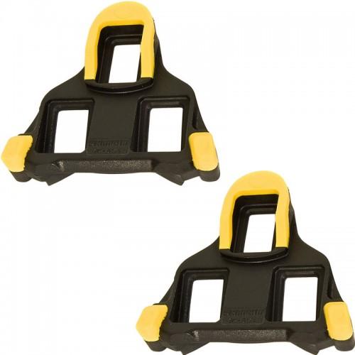 Shimano Yellow SPD-SL Cleats
